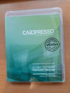 CardPresso XXS Software for creating Plastic ID, Loyalty, Membership etc Cards