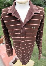 Vintage Velour Pullover Shirt LARGE TALL - Plush Comfort by CAMPUS - Green Tiger