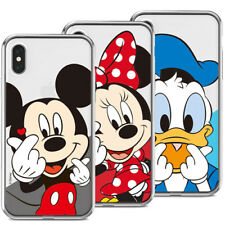 Genuine Disney Finger Heart Clear Case iPhone 12 Pro Pro Max 12 mini Case