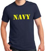 NAVY T-shirt Military PT Tee Physical Training US ARMY Birthday Veteran's Day