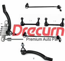 6PC t Front Rear Sway Bar Outer Tierod Kit For Volvo S60 S80 V70
