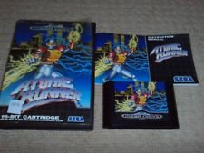 ATOMIC RUNNER  - Rare Boxed Sega Mega Drive Game