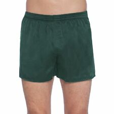 NEW Mens  Boxers INTIMO Green Plaid COTTON//POLYESTER  Large b3