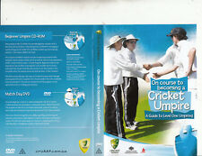 Cricket Australia-On Course To A Cricket Umpire-[CD-Rom + DVD]-Cricket A-DVD