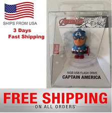 Marvel Captain America 16GB USB Flash Drive Free Ship NEW  SEALED