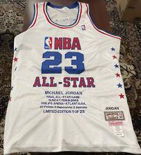 2003 Mitchell & Ness  Michael Jordan Limited Edition Jersey 1 Of 23 Size 52