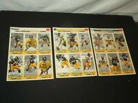 PITTSBURGH STEELERS  football cards 1993 Gameday Team full set 18 Barry Foster +