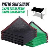 Outdoor Sun Shade Segel Garten Patio Auto Markise Baldachin UV-Block Rechteck PE