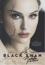 Black Swan (2010) Natalie Portman Vincent Cassel Mila Kunis RARE SIGNED RP 8x10!