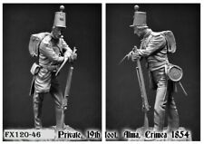 Foxwood Figures 1-16th/120mm kit of a Private, 19th Foot, Alma, Crimea 1854