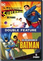 The New Adventures Of Batman/The New Adventures Of Superman [New DVD] Ac-3/Dol