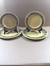 "Staffordshire Kiln Craft Bacchus x 2 Dessert Plates (9"") & x 2(7"") Side Plates"