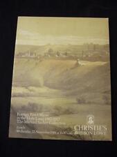 "Christie'S catalogo d'asta esteri 1989 gli uffici postali in Terra Santa ""Sacher"""