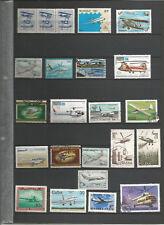 Flugzeuge Sellos Stamps Luftfahrt