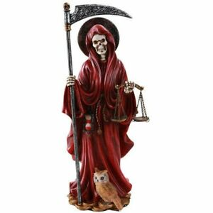 Santa Muerte Saint of Holy Death Standing Religious Statue 10 Inch