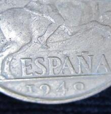 *GUTSE* FRANCO-544, 10 CÉNTIMOS 1940, ERROR (6a), REPINTADA.