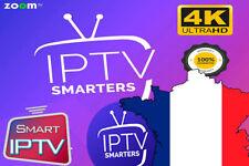 iP*TV Smarters Pro Abonnement 12 mois(✔️M3U✔️SMART TV✔️ANDROID✔️MAG🔥envoi 1 min