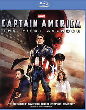 Captain America The First Avenger Blu-ray English French Portuguese Spanish