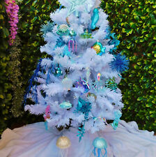 Under The Sea Ocean Creatures Christmas Tree Display Decorations Glass/Acrylic