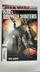 STAR WARS WAR OF THE BOUNTY HUNTERS #1  1st Printing        / 2021 Marvel Comics