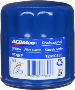 NEW Engine Oil Filter-Durapack ACDelco Pro PF48F PF48E BULK 12 PER CASE OEM