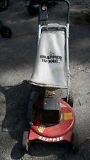 vintage SNAPPER  LAWN MOWER WALK BEHIND PUSH electric MOTOR 19eo3
