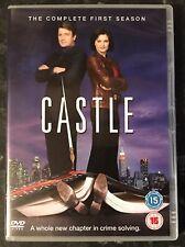 CASTLE COMPLETE SEASON 1 (3-DISC DVD SET) AS GOOD AS NEW MINT CONDITION
