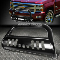 "FOR 14-16 CHEVY SILVERADO/SIERRA 1500 BLACK 3"" BULL BAR PUSH BUMPER GRILLE GUARD"