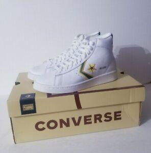 Converse Pro Leather Mid NBA Boston Celtics  Green White Shoes 167061C Size 15