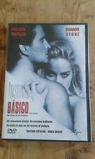 Como nuevo DVD película  INSTINTO BÁSICO - DOBLE DISCO -  Item For Collectors