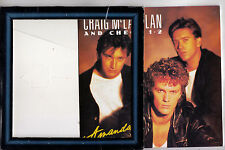 CRAIG McLACHLAN & CHECK 1-2 Amanda / Baby Loves Funky 45 - Picture Frame Sleeve