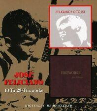 José Feliciano, Jose Feliciano - 10 to 23 / Fireworks [New CD] Rmst
