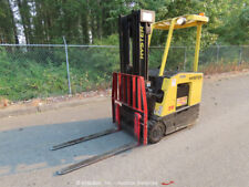 2001 Hyster E35Fr Electric 3,000 lbs Warehouse Forklift Lift Truck 36V bidadoo
