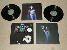 PHANTOM OF THE OPERA ORIGINAL SOUNDTRACK DOUBLE VINYL ALBUM LP RECORD NEAR MINT+