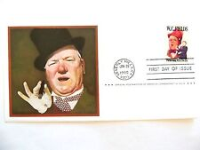 """January 29th, 1980 In Commemoration of """"W. C. Fields"""" First Day Issue"""