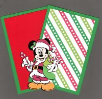 "Disney Christmas Mickey Mouse Die Cut with 2 Photo Mats - 4"" x 6"""