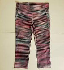 GapFit GFast Multicolor Striped Leggings Size Medium