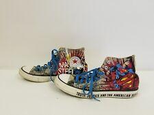 Converse Chuck Taylor All Star Superman DC Comics Man Of Steel Mens Size 9