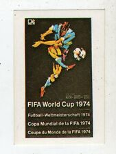 [JJ] FIGURINA CALCIO FLASH MEXICO 1986 STEMMA FIFA WORLD CUP 1974 NUMERO 13