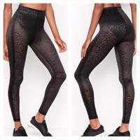 New Victoria Secret VSX Total Knockout High Waist Legging Black Leopard S M L XL
