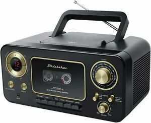 Studebaker SB2135BG Portable CD Player with AM/FM Radio and Cassette Player
