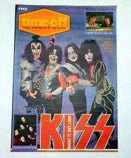 KISS Band Time Off Australia Aussie Newspaper Magazine 2001 Farewell Concert