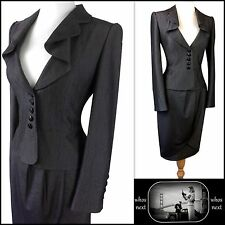 35 M&S size 18 Stunning Grey Skirt Suit Ladies Limited Collection Marks Spencers