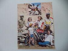 advertising Pubblicità 1975 MOTO MALAGUTI CAVALCONE 125
