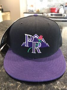 Portland Rockies New Era 5950 Hat Cap Size 7 1/8 NWT Made In USA