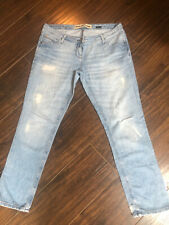 River Island Ripped Distressed Look Jeans Size 14