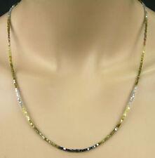 Halsketten und Anhänger im Collier-Stil aus Sterlingsilber mit natürlichem
