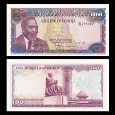 Kenya 100 Shillings, 1978, P-18, banknote,Original,UNC