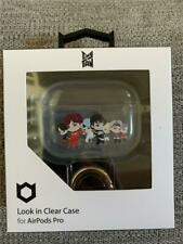 TinyTan Character Clear Wireless Earbud Case Cover Inspired By Bts