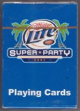 Miller Lite Super Party 2007 Playing Cards